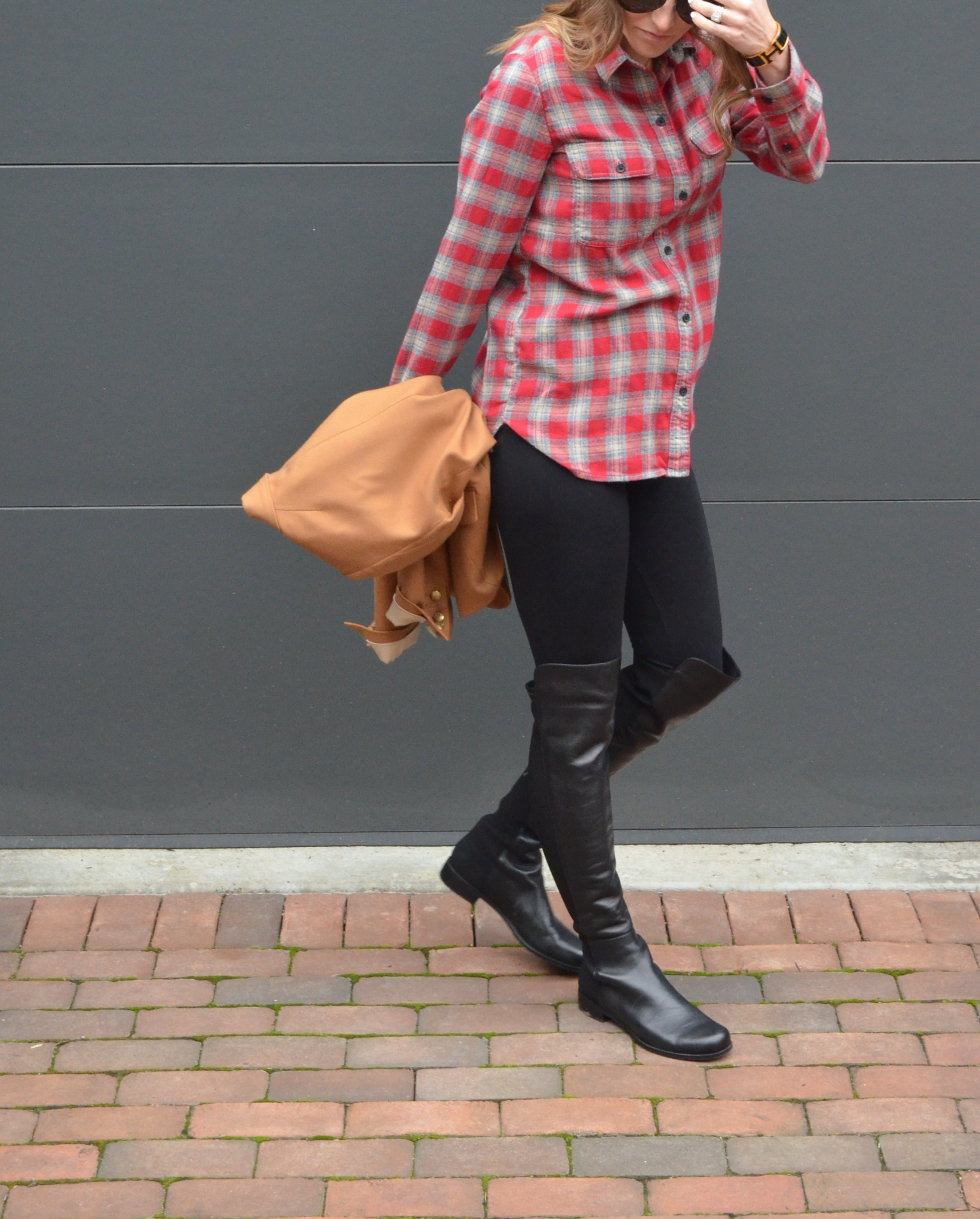 23 weeks pregnant outfit maternity style stuart weitzman champagne in the rain
