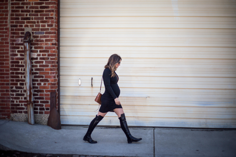 stuart weitzman 5050 boots blogger outfit