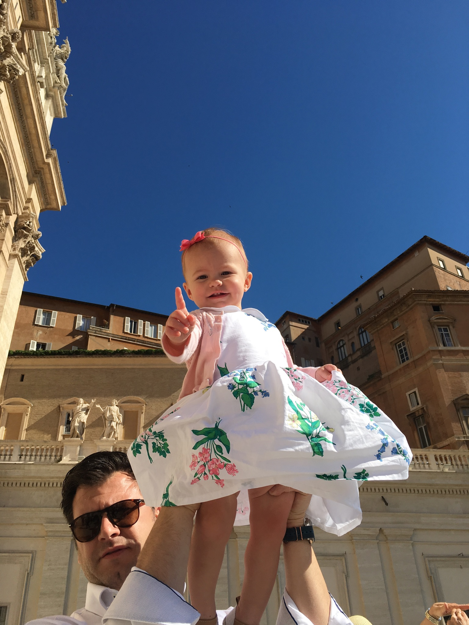 travel in italy with a baby vatican sistine chapel