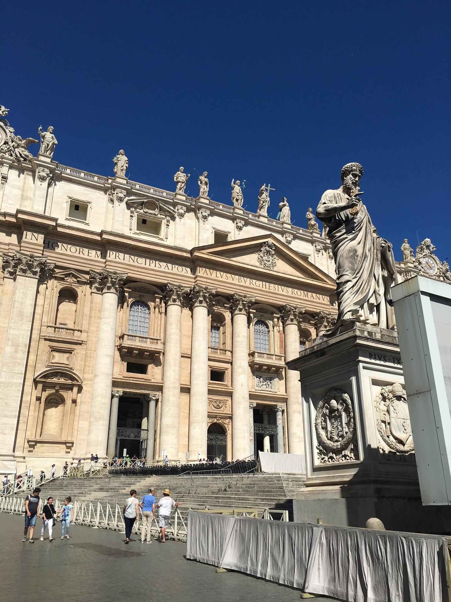 vatican rome st. peters basilica