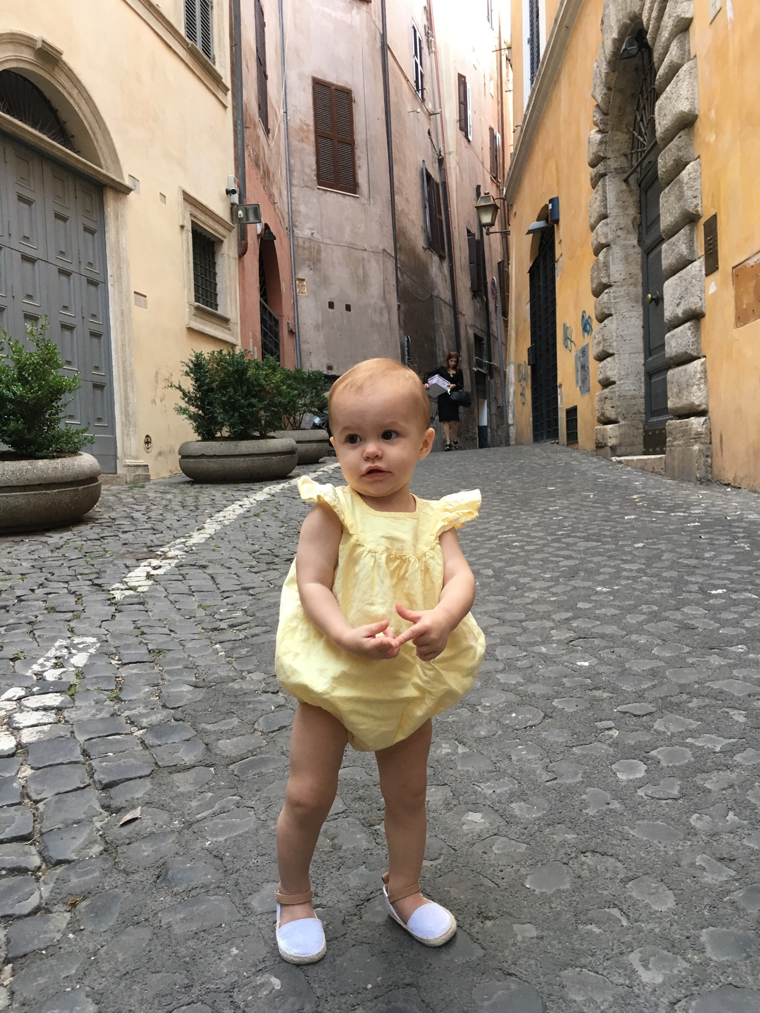 travel with a baby in italy