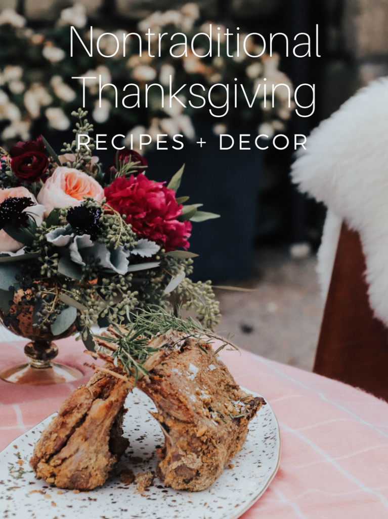 nontraditional thanksgiving recipes friendsgiving