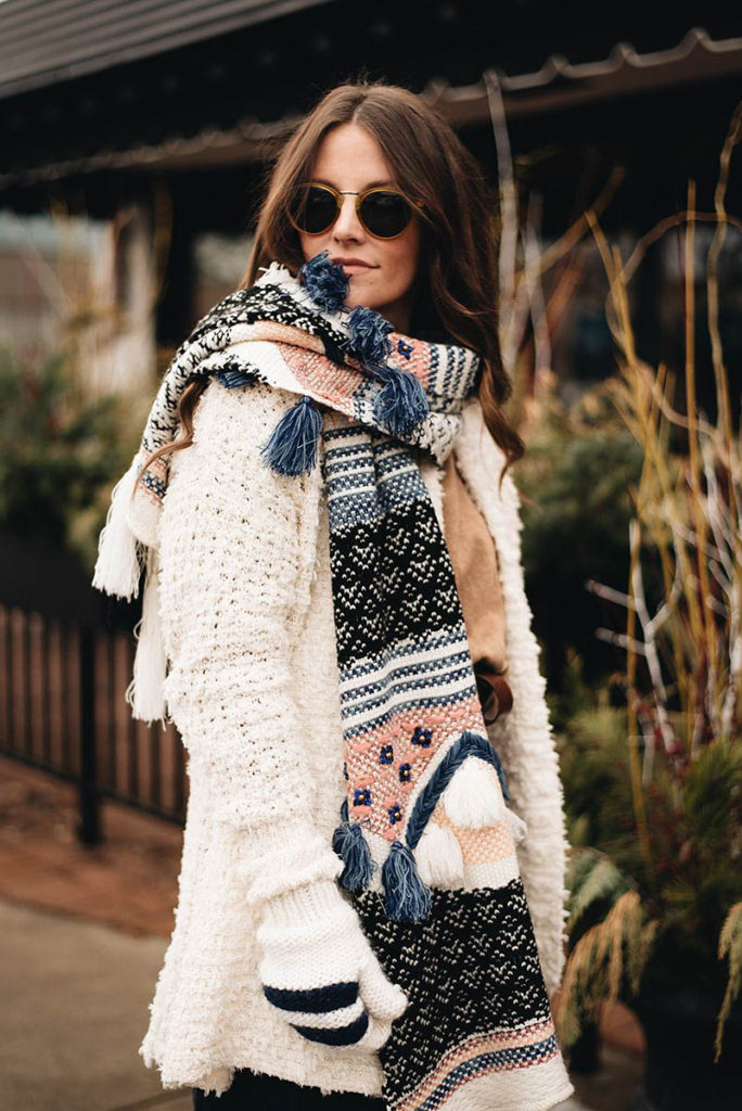 anthropologie winter outfit ideas