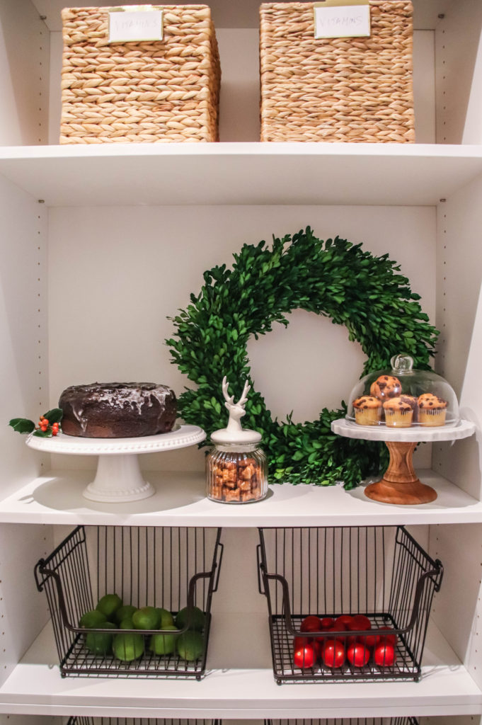 holiday pantry
